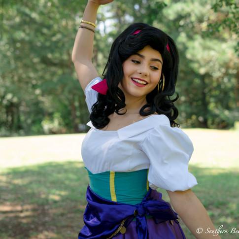 Esmeralda princess party
