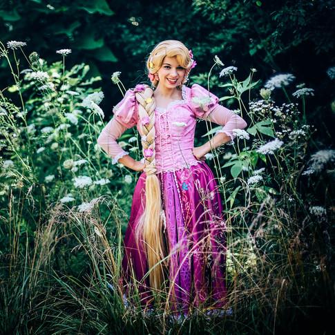 Rapunzel Princess Party