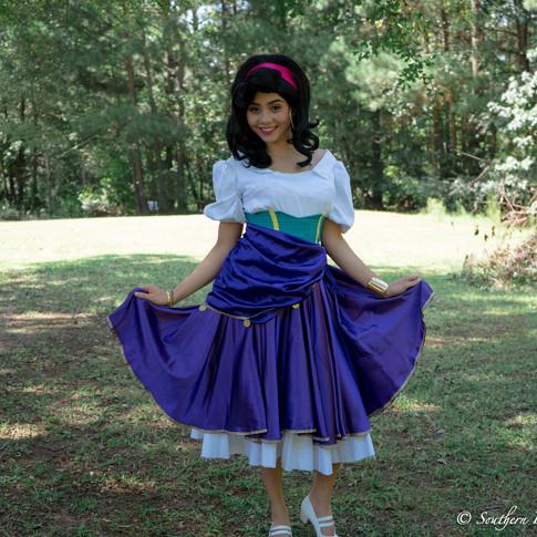 Esmeralda birthday party