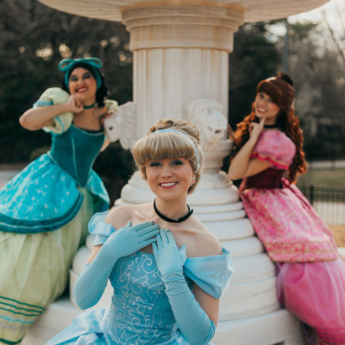 Ugly Step sisters and cinderella