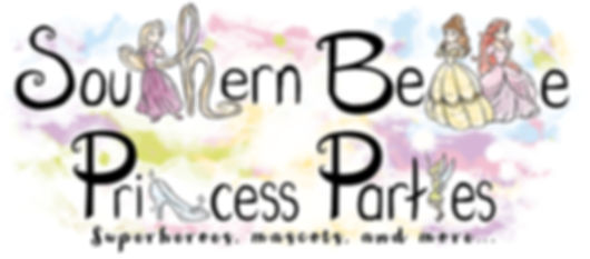 Southern Belle Princess Parties Logo