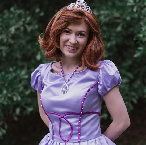 Sofia the First Cosplay