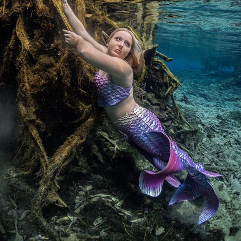 Real Life Swimming Mermaid