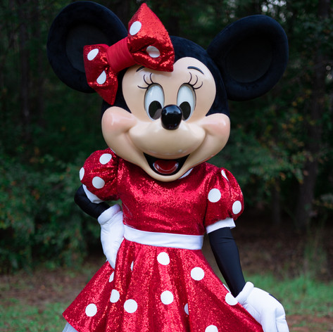 High Quality Minnie Mouse Mascot for Rent