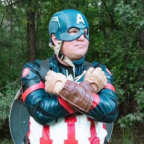 Captain America superhero for hire