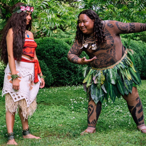 Maui and Moana Characters Atlanta