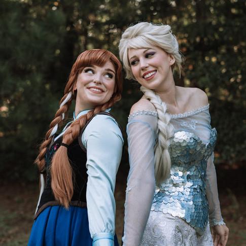 Elsa and Anna Rental