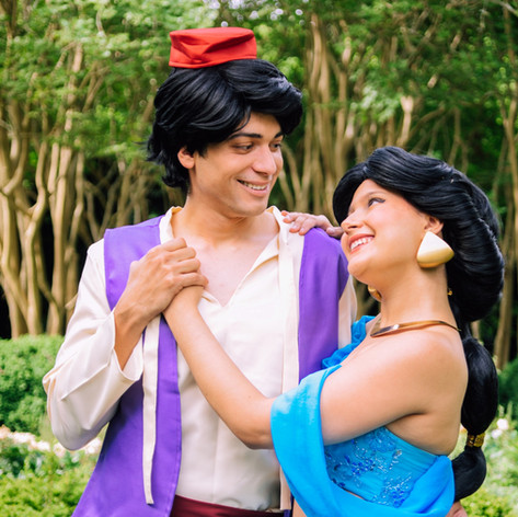 Aladdin and Jasmine rental