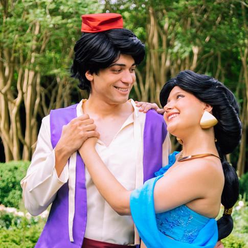 Aladdin and Jasmine rental
