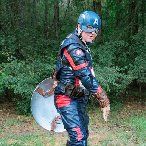 Captain America for Hire