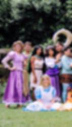 Rapunzel, Pocahontas, Peter Pan, Alice, Esmeralda, Maiu, Vanellope, Priness Parties