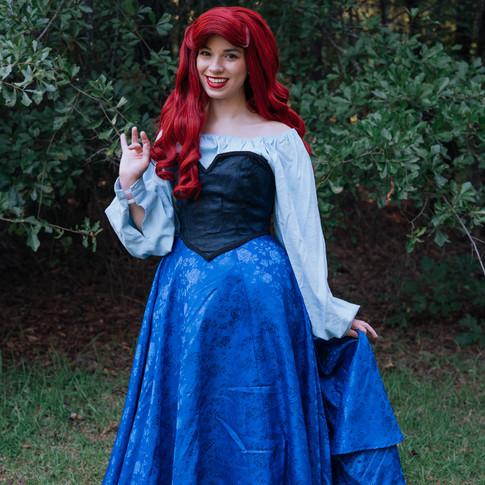 Ariel Character Rental