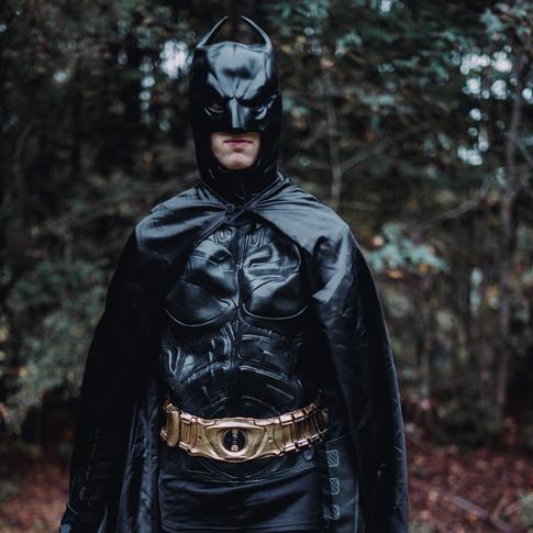Macon Batman Cosplayer