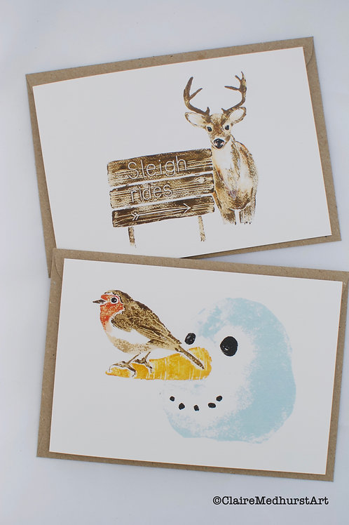 Christmas Cards - Pack of 6