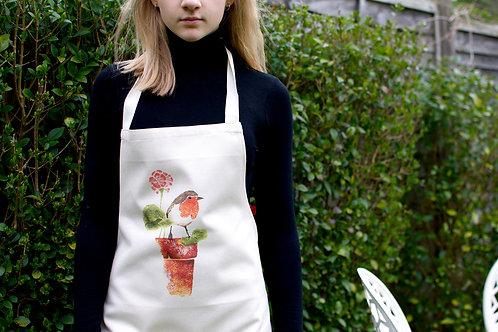 'Old Pot Rest Stop' Adult apron