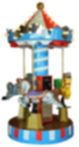 kiddie ride carousel