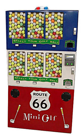 Vending Machine Golf Ball