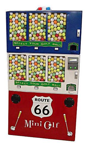 Vending Machine Golf Ball