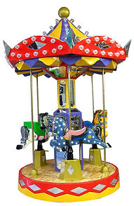 kiddieride, coin, operated