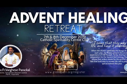 Catholic Spirituality Centre Retreat 7th & 8th Dec 2019