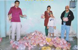 Gifts for children in Gujarat