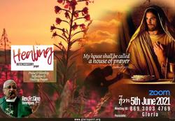 5th June 2021 Healing Intercessory Praye