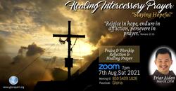 Intercessory Healing Prayer 7th August 2021