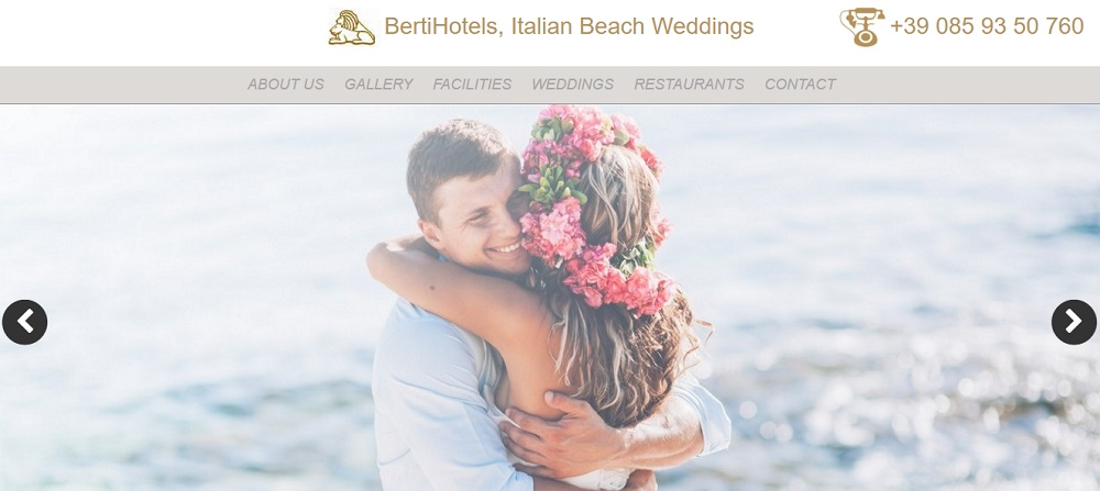 Italian Beach Weddings