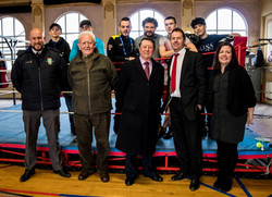 Sporting figures support charity
