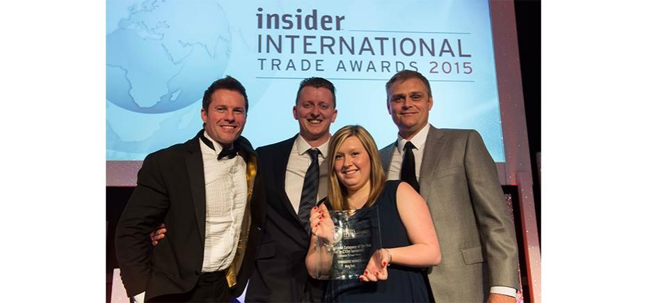 Jason Mace International Award 2015