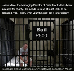 Locked up for charity