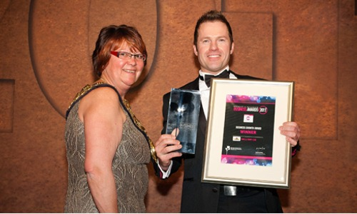 Business Growth Award 2011