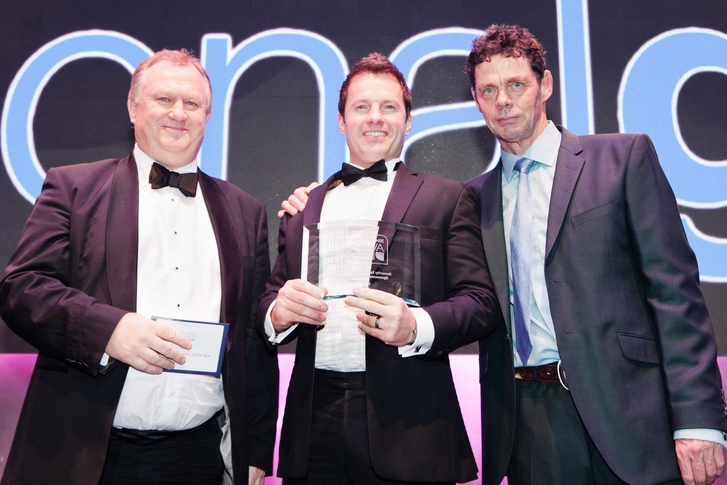 Jason Mace UK IT Awards Winner 2014