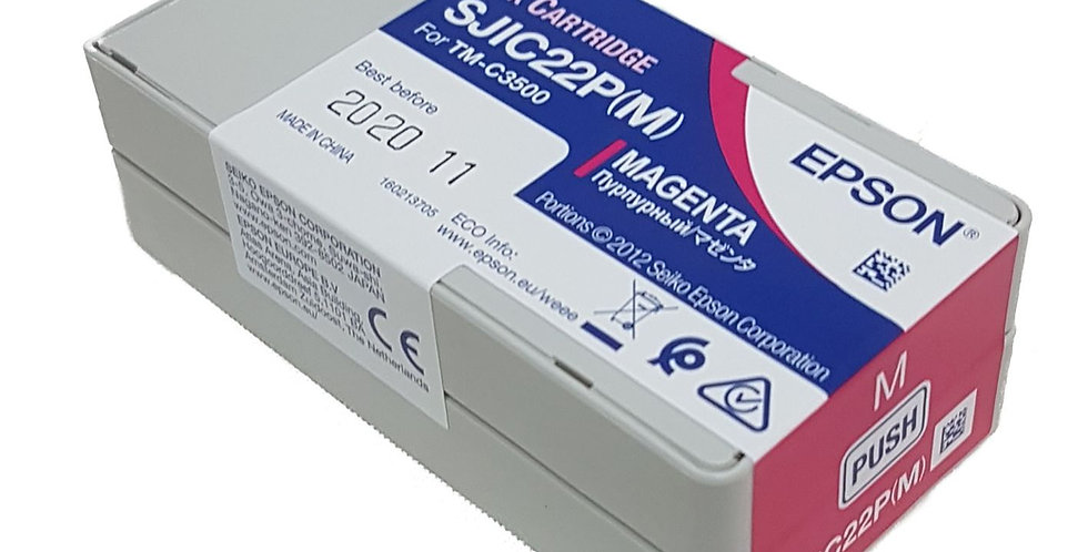 TM-C3500 Magenta Ink Cartridge SJIC22P(M)