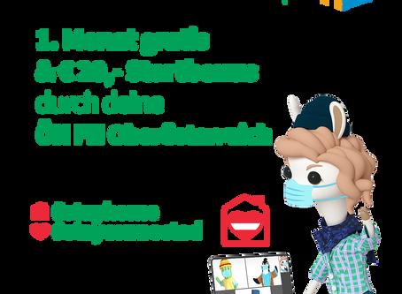 Gratis Internet bis Semesterende von Deiner ÖH FH Oberösterreich - Kooperation mit Educom
