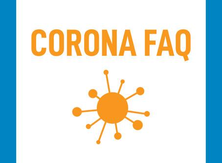 FAQ zu den Corona-Virusmaßnahmen an der FH Oberösterreich