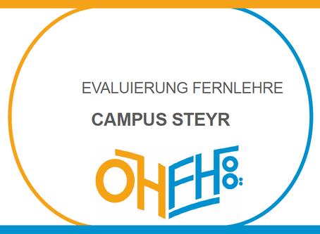 Steyr: Die Ergebnisse der Evaluierung zur Fernlehre
