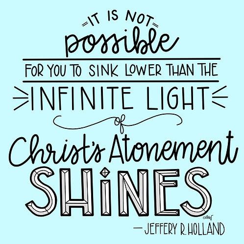 Jeffrey R. Holland Atonement Quote