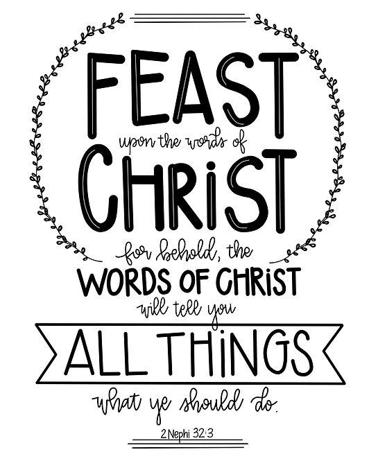 2 Nephi 32:3