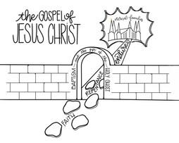 Gospel of Jesus Christ BW.jpg