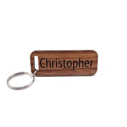 Custom Minimalist Keychain (Personalized)