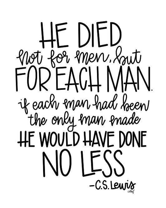 CS Lewis Easter Quote