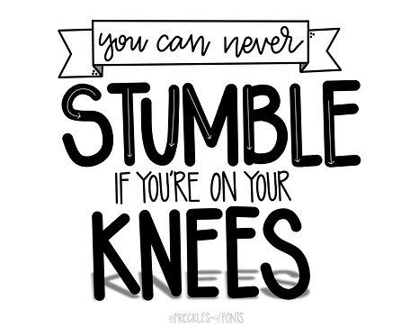 Can't Stumble