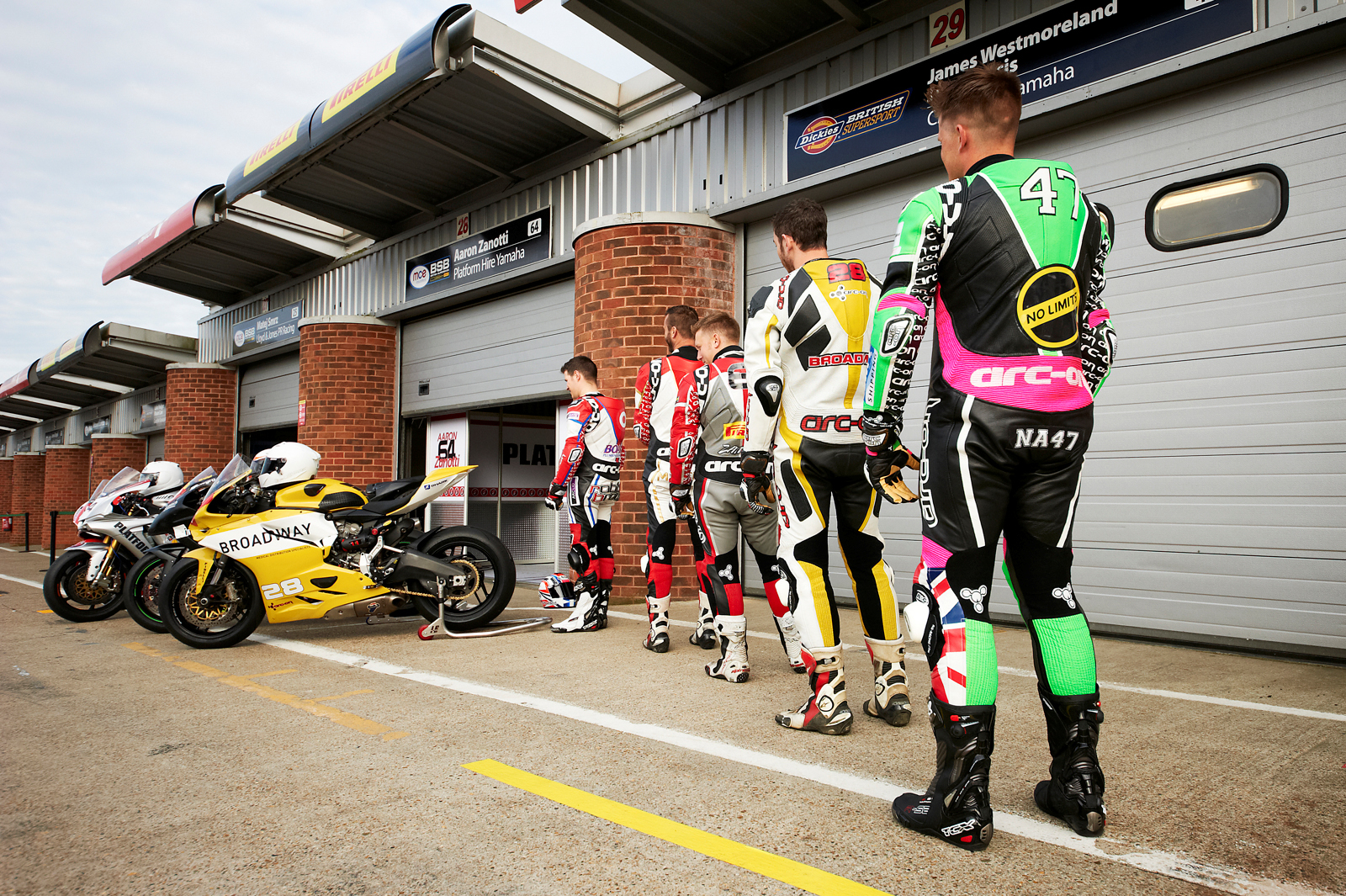 arc-on BSB riders 2016