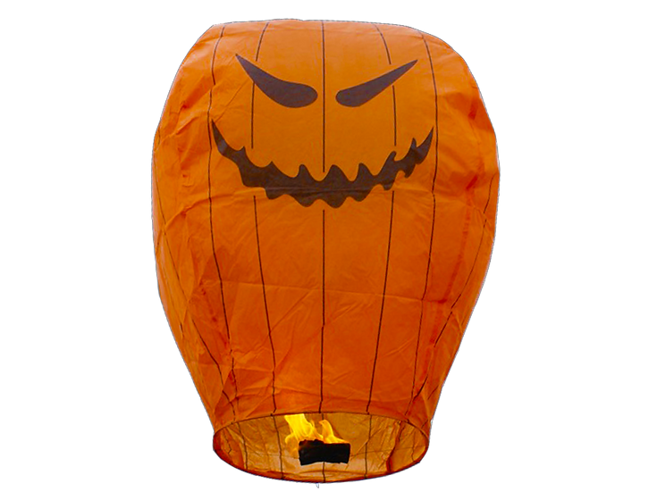 Pumpkin Sky Lantern