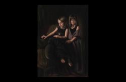 Sarah and Grace 30X40 Oil