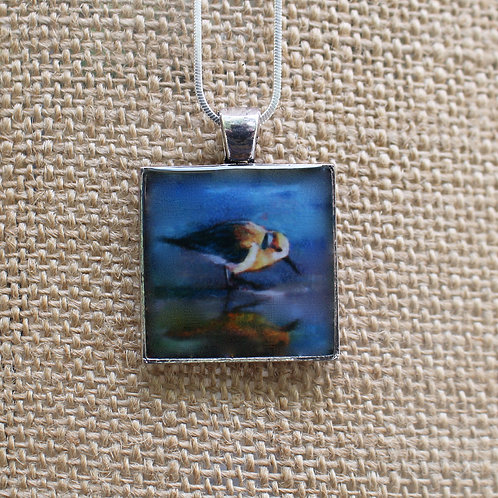 """Twilight"" Silver Fine Art Pendant"