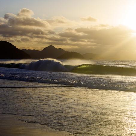 Luz, terral e Copacabana