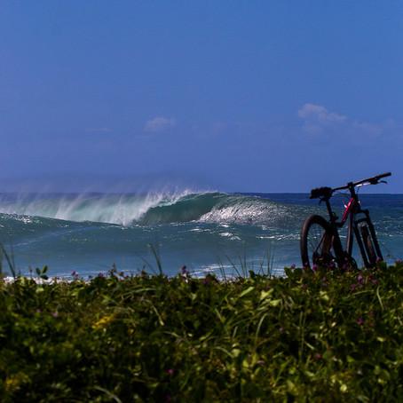 Fotografia de surf e composição