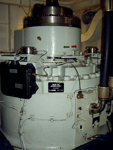 Rotary Vane as installed on Canadian naval Frigates, meeting the highest MIL STDs for acoustic noise and Grade A shock.